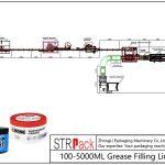 Automatisk 100ML-5L fedtfyldningslinie