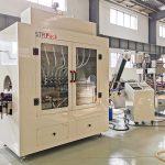 Automatisk flydende flaskepåfyldningsmaskine, Clorox blegemiddelsyre-påfyldningsmaskine