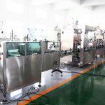 Automatisk produktionslinie Flaskepåfyldningsmaskine Påfyldningsmaskine til 70% alkoholhåndrensning, shampoo, brusegel, væske