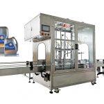 Automatisk 4 hoved flowmeter-fyldemaskine til 20-35L smøremaskine med olie-flowmåler