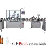 Automatisk påfyldnings- og afdækningsmaskine til dropperflaske
