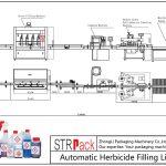 Automatisk fyldelinie for herbicid
