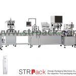 Automatisk fyld- og afdækningsmaskine med vandemulsion