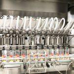 Linear Filling Machine Dishwashing Liquid – Filling and Capping Machine
