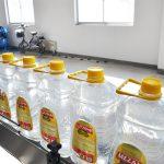 Automatisk fyldelinie til spiselig olie