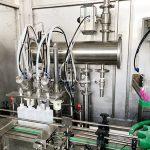 Eksplosionssikker limvæske med fyldemaskine Påfyldningsmaskine Etiketteringsmaskine