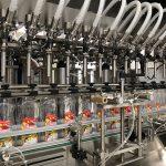 Flydende sæbepåfyldningsmaskine og flaskekappemaskine