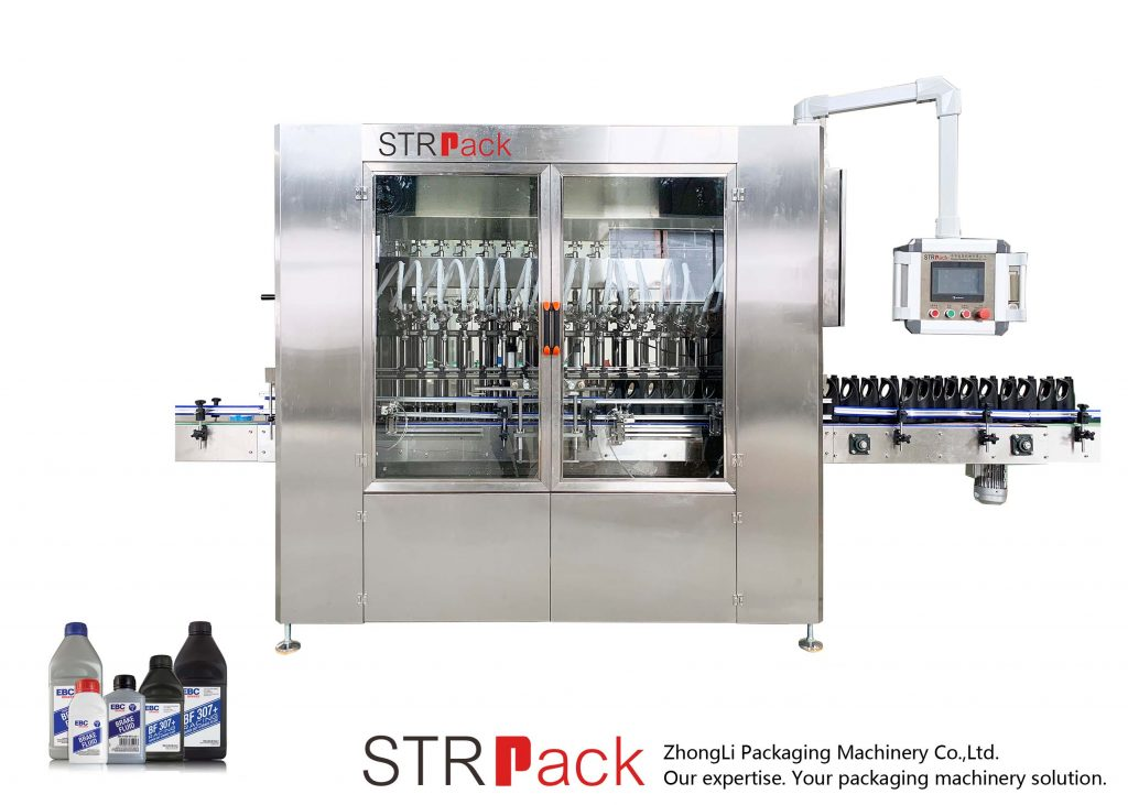 Automatisk fyldemaskine til smøreolie