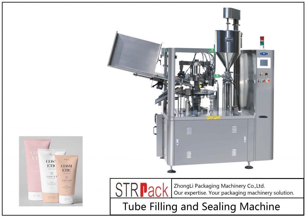 SFS-100 Plastic Tube Filling and tætningsmaskine