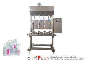 Semi Automatic Time Gravity Liquid Filling Machine