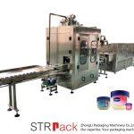 Vaseline Liquid Filling Machine Automatisk Vaseline Filling And Cooling Line
